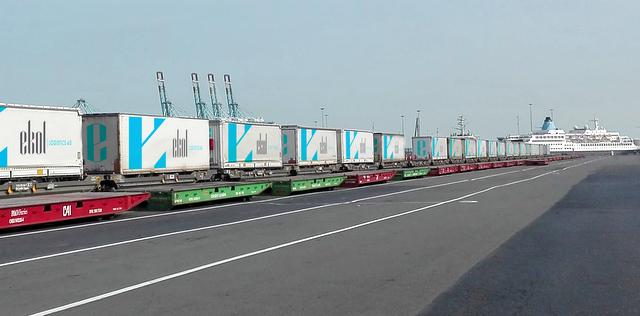 Ekol, şimdi de Belçika ve İtalya'yı blok tren ile bağlıyor