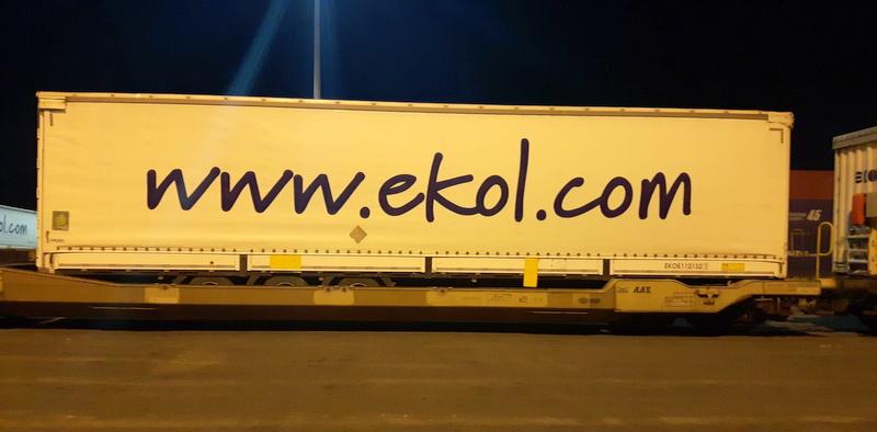 Ekol, yeni tren hattı ile Kuzey Avrupa ülkelerine hızlı teslimat gerçekleştirecek