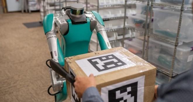 İlk teslimat robotu Digit göreve hazır