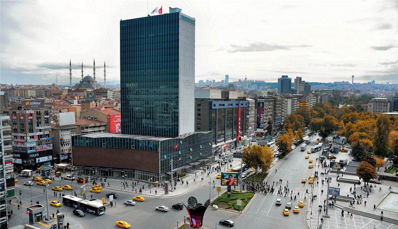 Ankara lojistiğin neresinde?