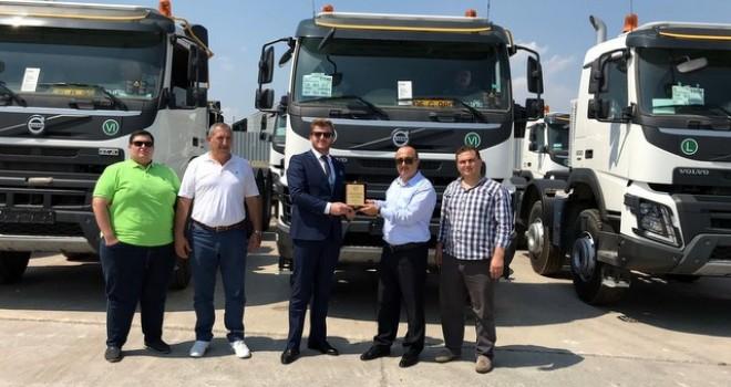 Demirkardeşler Madencilik araç filosunu 10 adet Volvo Trucks FMX13 8x4 500HP ile güçlendirdi