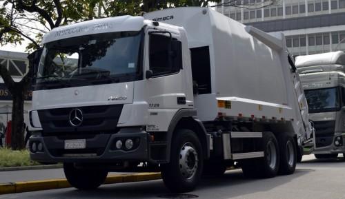 Brezilya'da Allison donanımlı atık kamyonunu pazara sundu