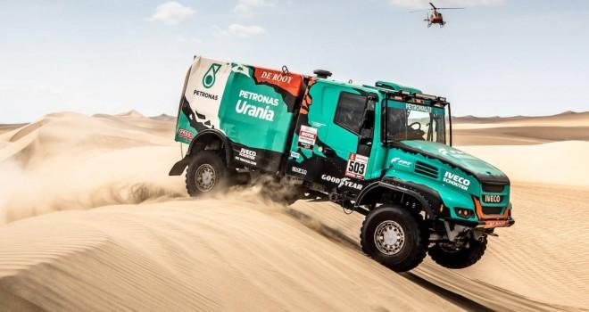Allison şanzımanlı kamyonlar, zorlu Dakar 2019 rallisinde ilk beş sırayı aldı