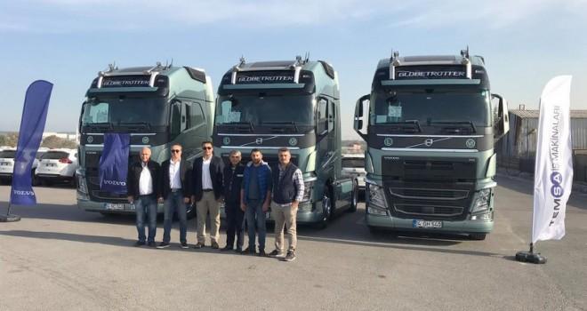 Ulu Uluslararası Nakliyat 8 adet  Volvo Trucks FH 540 HP çekicilerle güçlendirdi