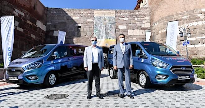 Hibrit elektrikli Custom PHEV'ler Ankara Büyükşehir Belediye'sine teslim edildi