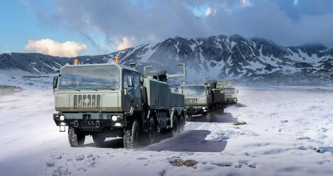IVECO'dan Romanya Silahlı Kuvvetlerine  942 kamyonluk teslimat