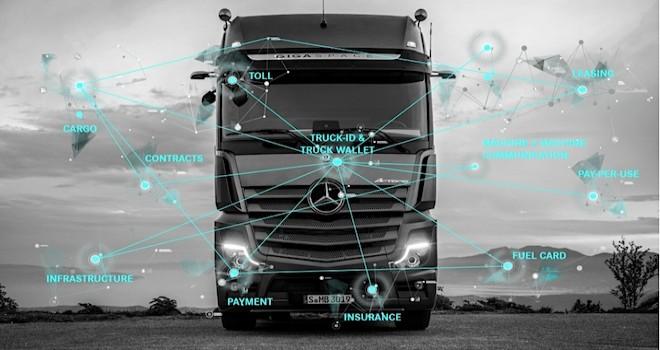 Daimler Trucks, kamyonlara nasıl ödeme yapılacağını öğretiyor