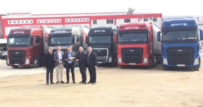 Ford Trucks'tan Biricik Grup'a 5 adet F-MAX
