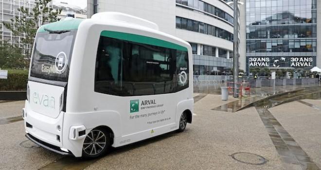 Arval'in Sürücüsüz Mobilite Çözümü EVAA yola çıkıyor