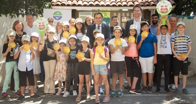 Aras Kargo çalışanlarının çocukları Sualtı Atık Sergisi ve Eğitim Atölyesi'ne katıldı