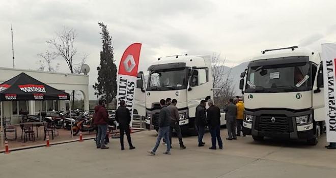 Renault Trucks, Kütahya, Bursa, Balıkesir ve Çanakkale'de filo sahipleri ve sürücüler ile buluşacak