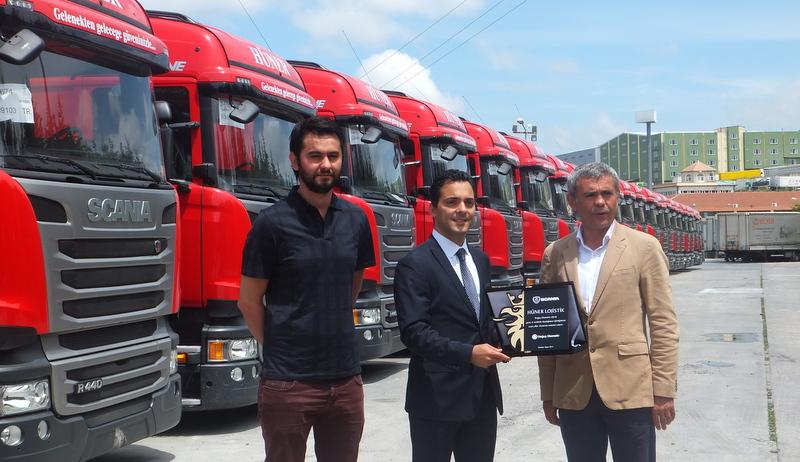 120 adetlik Scania anlaşması yaptı, 60'ını teslim aldı