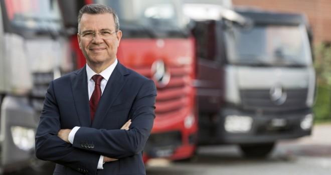 """""""16 yıldır 6 ton ve üzeri kamyon pazarında lideriz, Türkiye ihracatına 1 milyar euro ek gelir katmayı hedefliyoruz"""""""