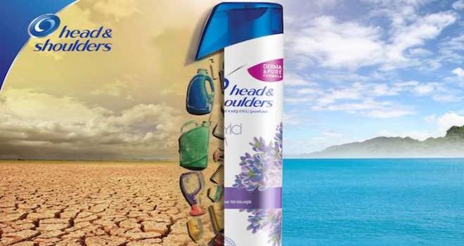 Head&Shoulders, Dünya Çevre Günü'nüGeri Dönüştürülmüş Şampuan Şişeleri ileDestekliyor