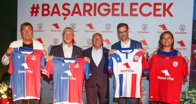 Petrol Ofisi ve Altınordu FK işbirliği yaptı