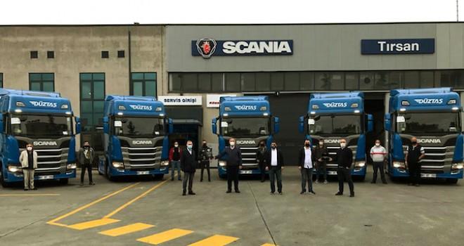 Düztaş Lojistik'e 5 Adet Özel Üretim Scania