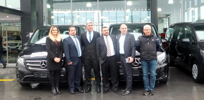 Filosuna Mercedes-Benz Vito'lar kattı, VIP transferde hedef büyüttü