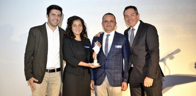 Ford Otosan'ın otizmli ve down sendromlulara istihdam fırsatı sağlayan projesine ödül
