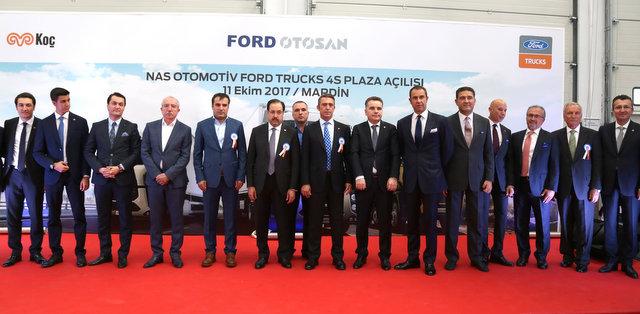 Ford Trucks, 29'uncu 4S tesisini Mardin'de açtı