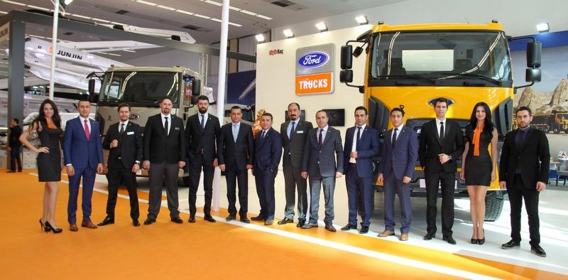 Ford Trucks, Ankara Beton Fuarı'nda yerini aldı