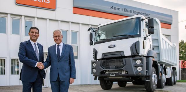 Ford Trucks, Avrupa pazarındaki yapılanmasını Hırvatistan ile sürdürdü