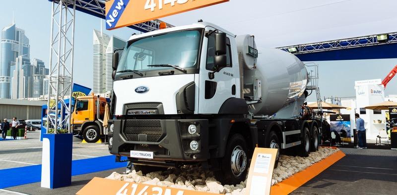 Ford Trucks, Dubai'deki en prestijli inşaat fuarında yerini aldı