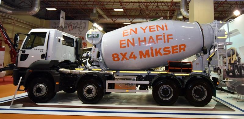 Ford Trucks, yeni mikserini 980 kilogram hafifletti