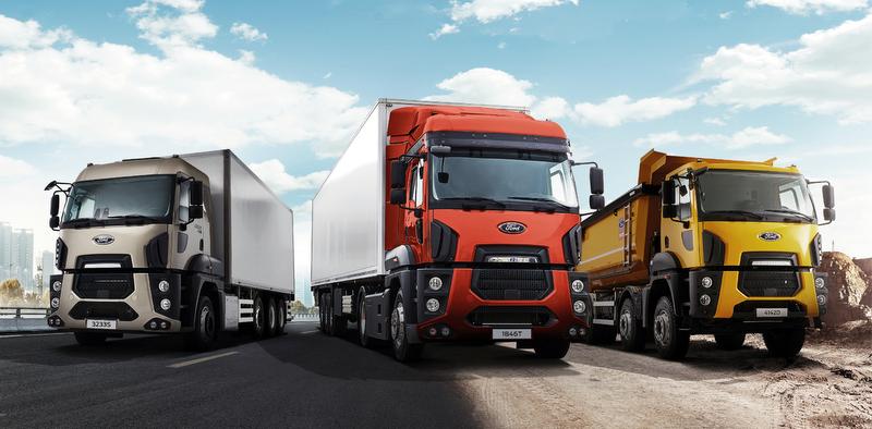 Ford Trucks'tan Euro 5 çekici alana 0 faizli kredi