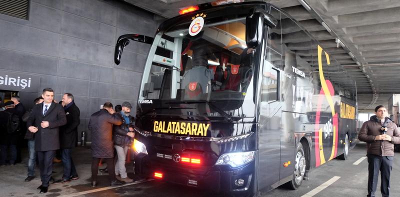 Galatasaray da tercihini Temsa Maraton'dan yana kullandı