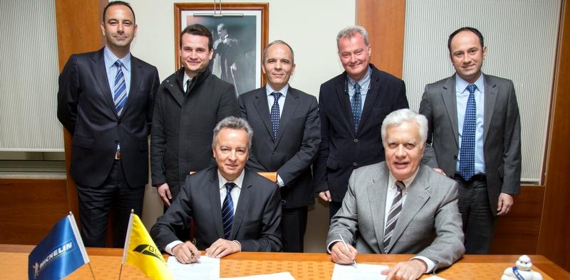 Gökbora ve Michelin işbirliğini 2019'a kadar uzattı