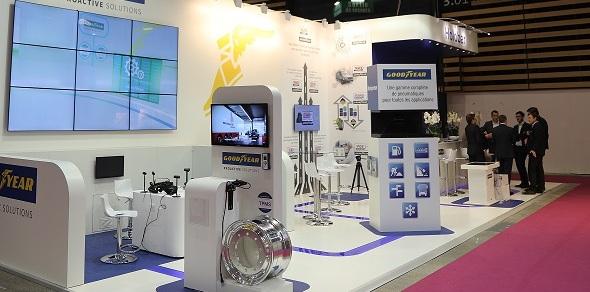 Goodyear, Solutrans'ta inovasyon ve teknolojiye dikkat çekti