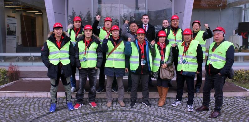 Güney Koreliler Tırsan Adapazarı Fabrikasını İnceledi