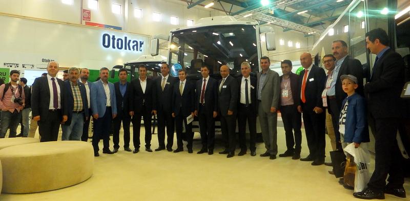 Huckepack Iceliner'ı ilk kez sergileyen Otokar, Comvex'te 15 aracıyla katıldı