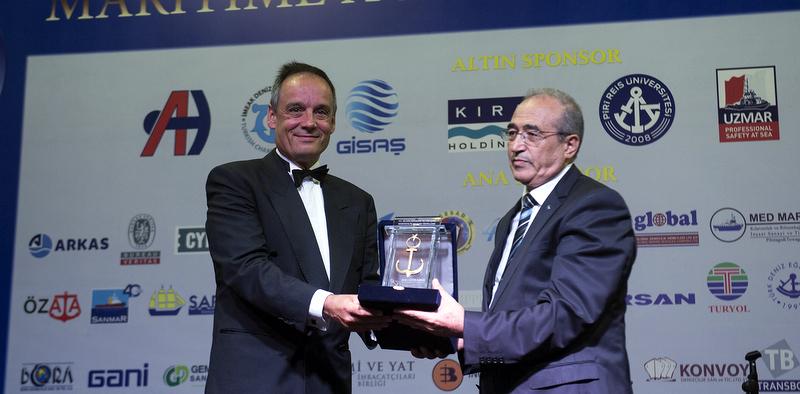 İDO Ro-Ro hattına Altın Çıpa ödülü!