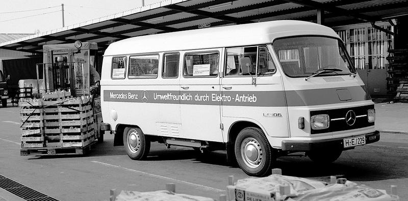 İşte 45 yıl önceki elektrikli minibüs!