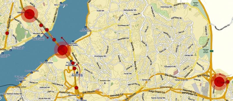 İşte İstanbul Trafiğini Kilitleyen Noktalar