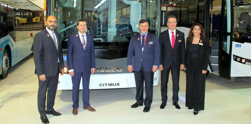 Isuzu, ödüllü Citiport ile Busworld İstanbul'da yerini aldı