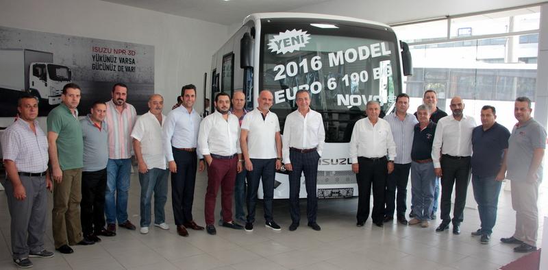 Isuzu, servis ve okul taşımacılarına yönelik özel olarak tasarladığı Novo S'i tanıttı