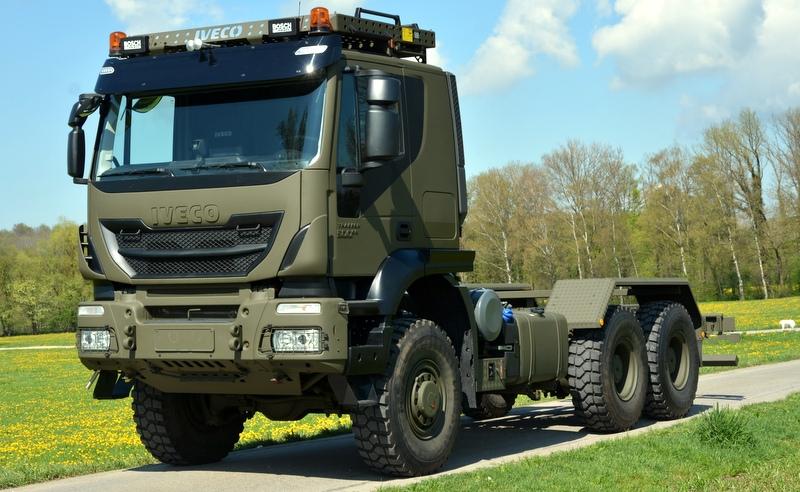 İsviçre Silahlı Kuvvetleri'ne 400 adet Euro 6 kamyon teslim edecek