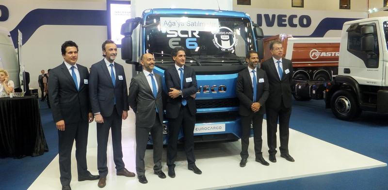 Yeni Eurocargo'nun tanıtımını yapan Iveco, 3 ödüllü aracı ile sahne aldı!