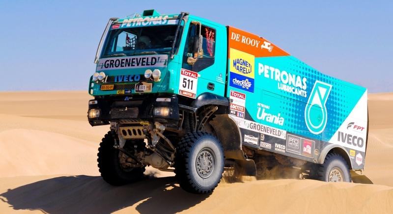 Iveco, Dakar 2016'da zafere koşuyor!