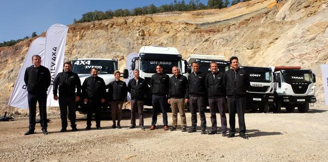 Iveco, inşaat ve ağır hizmet uygulamalarına yönelik araçlarını tanıttı