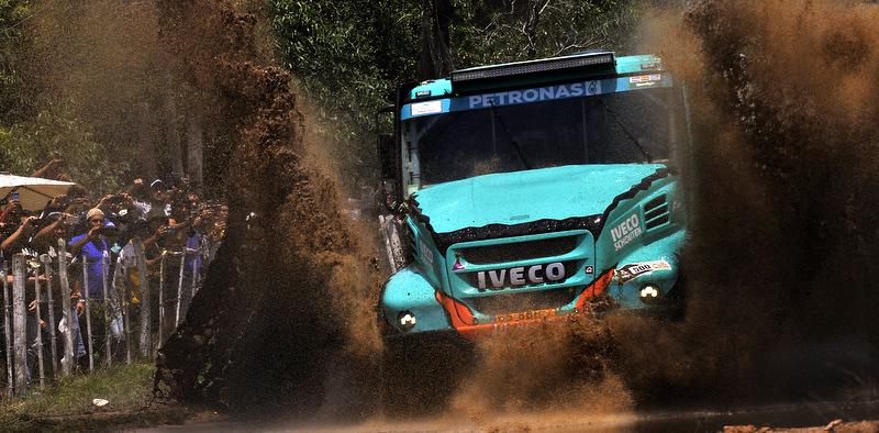 Iveco kamyonları Güney Amerika'nın sıra dışı coğrafyasında...