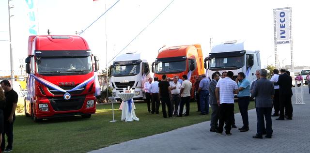 IVECO, Mersin ve Antakyalı müşterilerine Yeni Stralis'i tanıttı
