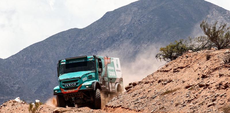 IVECO takımı dünyadaki en zorlu rallilerde yarışmaya hazır
