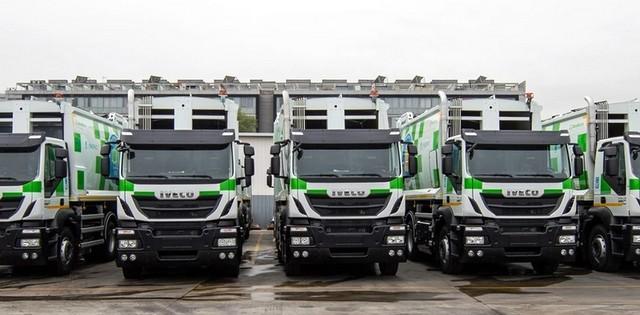 Iveco'dan İspanya'ya 109 adet doğal gazlı kamyon