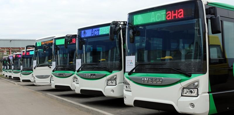 Iveco'dan Kazakistan'a 210 adet otobüs!