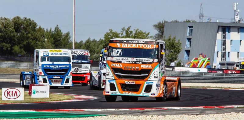 IVECO'nun kamyon yarışındaki mücadelesi devam ediyor