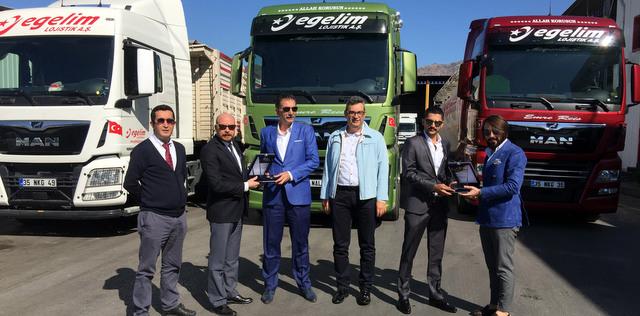 İzmirli lojistik firması 2 ayda 62 adet MAN çekici ve kamyon aldı