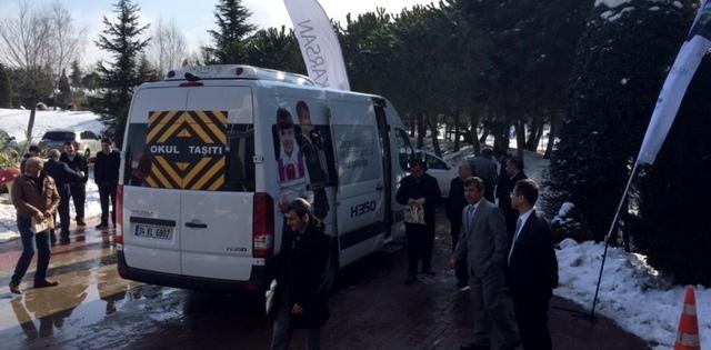 Karsan, H350'yi Gebzeli Toplu Taşımacılara Tanıttı